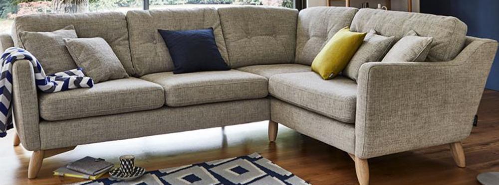 Corner Fabric Sofas