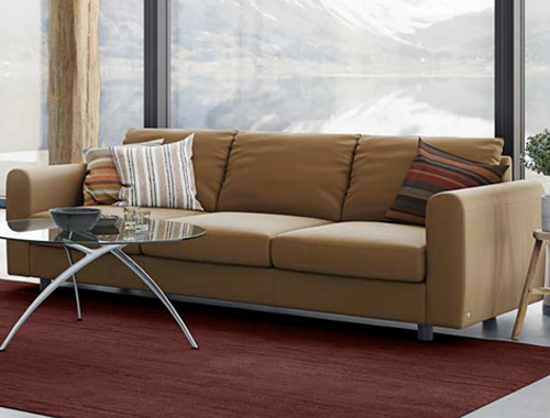 4 Seater Leather Sofas