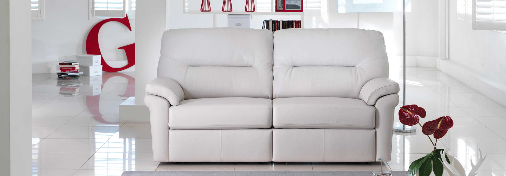 3 Seater Manual Recliner Sofas