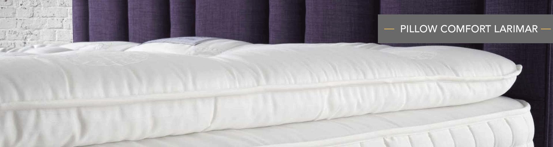 Pillow Comfort Larimar Banner