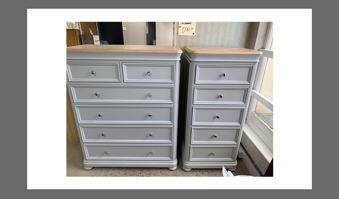 5 Drawer Chest and 4+2 Set of Drawers