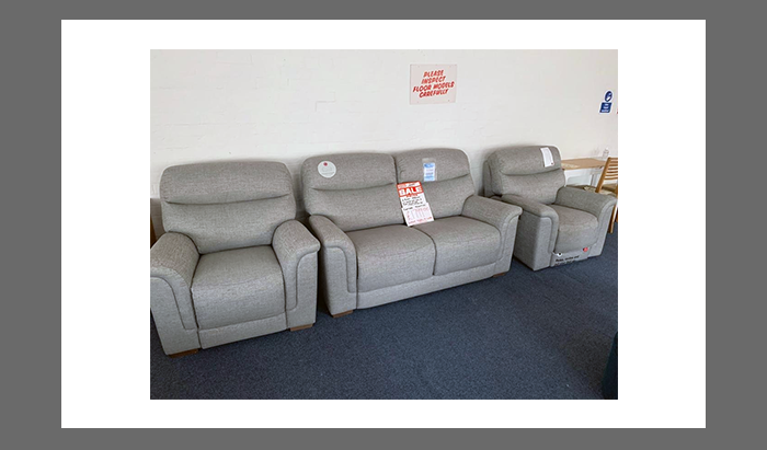 2.5 Seater Sofa, Chair and a Power Reclining Chair