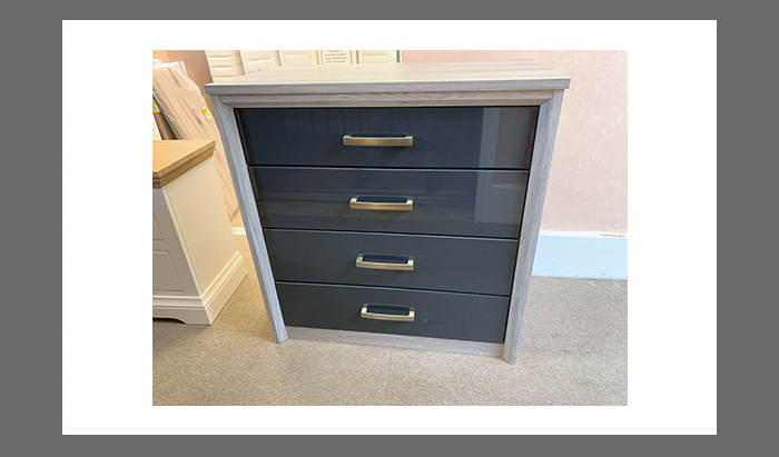 4 Drawer Wide Chest