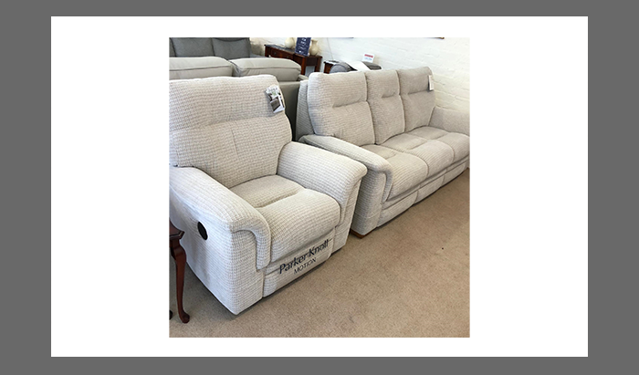 3 Seat Power Reclining Chair and Armchair