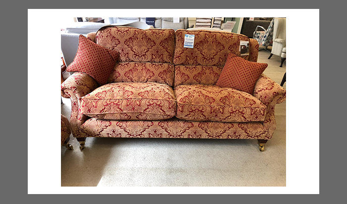 Large 2 Seater Sofa and 2 Armchairs