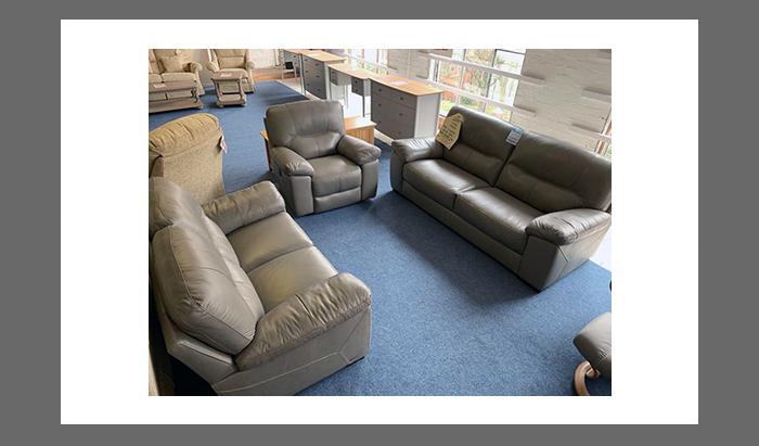3 Seater Sofa with 2 Seater Sofa and Power Recliner Chair